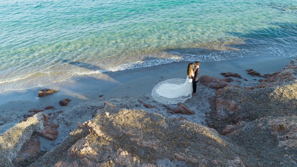 Hochzeitsfotos auf Sardinien