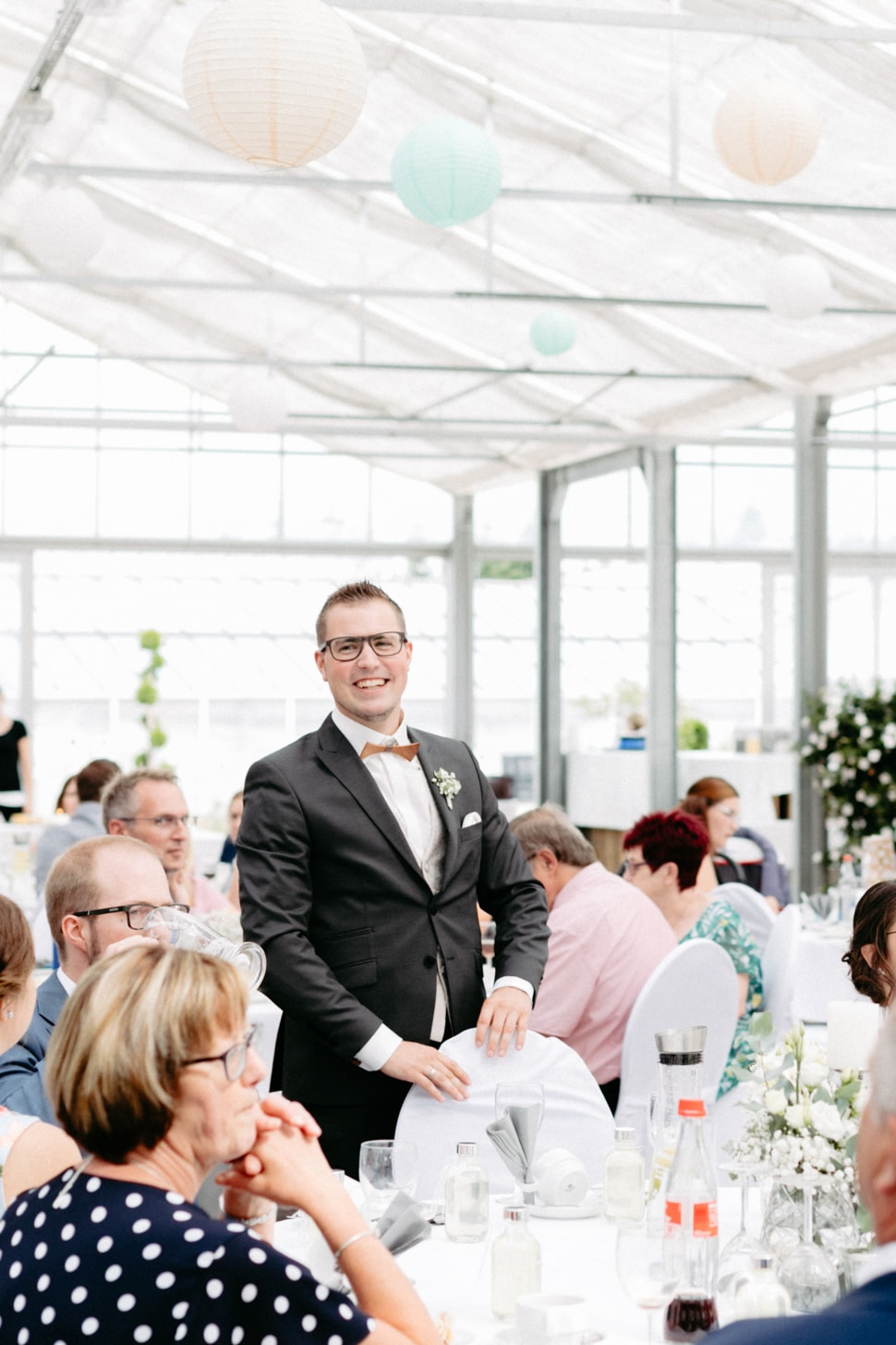 Hochzeit im Gewächshaus Gwäxhaus Schinner