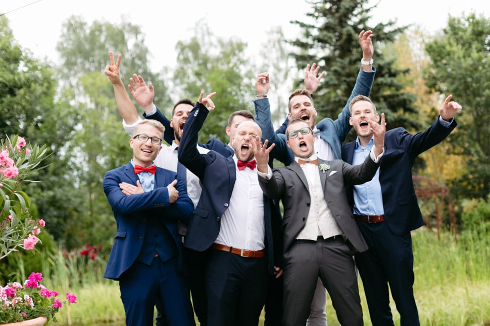 Hochzeitsfeier im Gewächshaus Gwäxhaus Schinner